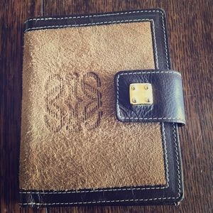 Authentic LOEWE Leather Wallet